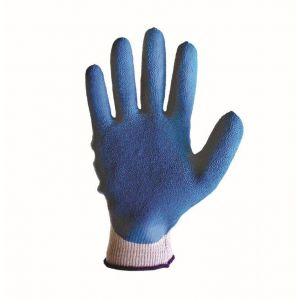 """""""D-Grip"""" Superior - (12 Pair) Rubber Coated Poly - Cotton Knitted Glove - Hand Protection"""